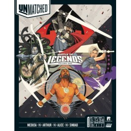 Unmatched Battle Of Legends Volume One - juegos de mesa