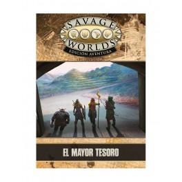 Savage Worlds Edicion aventura: el Mayor Tesoro - suplemento de rol