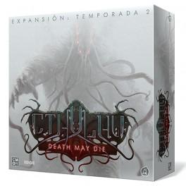 Cthulhu: Death May Die. Temporada 2 - expansión juego de mesa