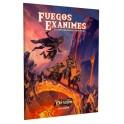 El resurgir del Dragon: Fuegos Exanimes - suplemento de rol