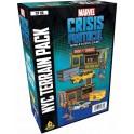 Marvel Crisis Protocol NYC Terrain Pack - expansión juego de mesa