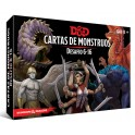 Dungeons and Dragons: Cartas de monstruos. Desafio 6-16 - suplemento de rol