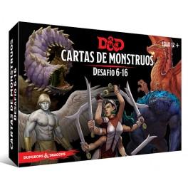 Dungeons and Dragons: Cartas de monstruos. Desafio 6-16 - suplemento de rol