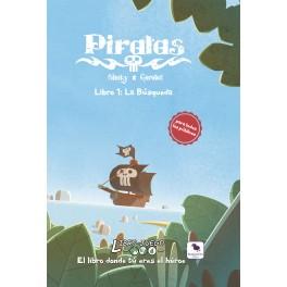 Libro Juego 12 Piratas. La Busqueda - Libro juego
