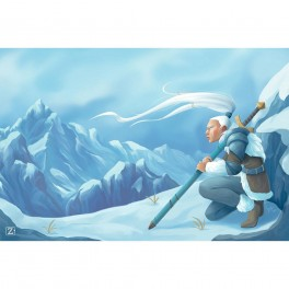 Tapete de neopreno: Nieve 60 x 90 cm
