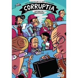 Corruptia - juego de mesa