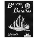 Mythras: Barco y Batallas - suplemento de rol