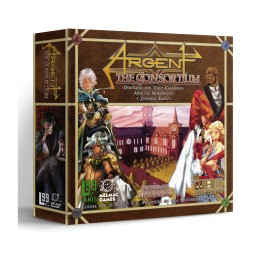 Argent: The Consortium. Segunda edicion - juego de mesa