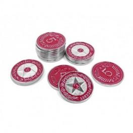 Scythe: monedas metalicas $5 (x15)