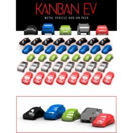 Kanban EV: Coches Metalicos (edicion KS) - accesorio juego de mesa