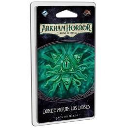 Arkham Horror: Donde moran los Dioses - expansion juego de cartas