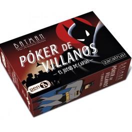 Batman Poker de Villanos - juego de cartas