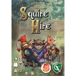 Squire for Hire - juego de cartas