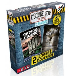 Escape Room: 2 jugadores - juego de mesa