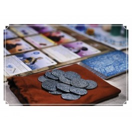 Pax Pamir: Pack de monedas metalicas - accesorio juegos de mesa