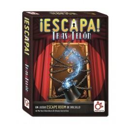 Escapa: Tras el Telon - juego de cartas