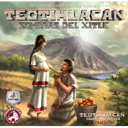 Teotihuacan: Sombras del Xitle - expansión juego de mesa