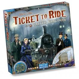 Aventureros al tren: Reino Unido y Pennsylvania juego de mesa