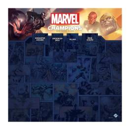 Marvel Champions: 1-4 jugadores playmat - accesorio juego de cartas
