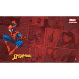 Marvel Champions: Spider Man Game Mat - accesorio juego de cartas