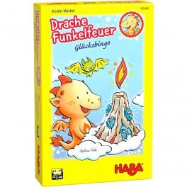 Dragon Chispas: Bingo de la Suerte - juego de mesa para niños