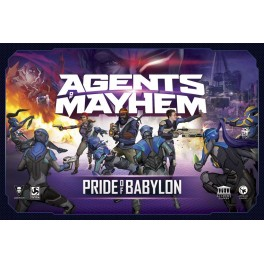 Agents of Mayhem: Pride of Babylon - juego de mesa