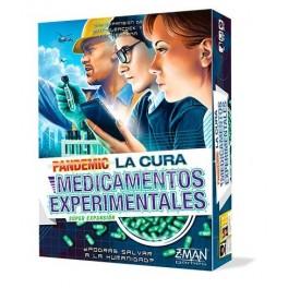 Pandemic La Cura: Medicamentos Experimentales - expansión juego de mesa