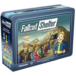 Fallout shelter - juego de mesa