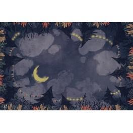 Tapete de neopreno: Noche 60 x 90 cm