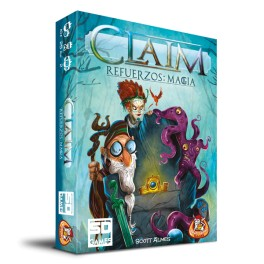 Claim Refuerzos: Magia - expansión juego de cartas