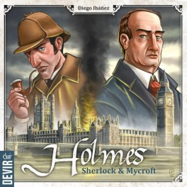 Holmes: Sherlock y Mycroft juego de mesa