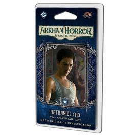 Arkham Horror: Nataniel Cho Mazo de investigador - expansión juego de cartas