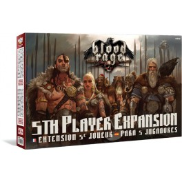 Blood Rage: Expansion para 5 jugadores juego de mesa