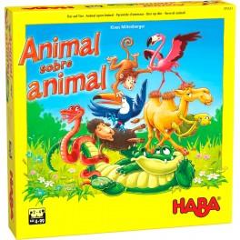 Animal sobre animal: el Tambaleante juego de Apilar - juego de mesa para niños