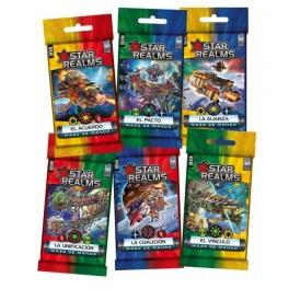 Star realms mazo de mando: La Unificacion - expansión juego de cartas