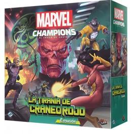 Marvel Champions: La Tirania de Craneo Rojo - expansión juego de cartas