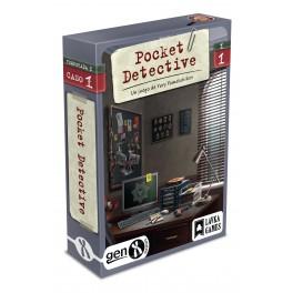 Pocket Detective: Temporada 1 Caso 1 - juego de cartas