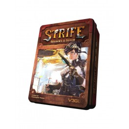 Strife: Shadows and Steam - juego de cartas