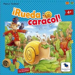 Rueda Caracol - juego de mesa para niños