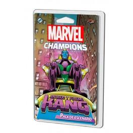 Marvel Champions: Antiguo y futuro Kang - expansión juego de cartas