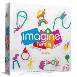 Imagine Family - juego de cartas