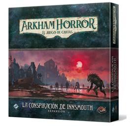 Arkham Horror: La Conspiracion de Innsmouth - expansión juego de cartas