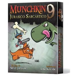 Munchkin 9: Jurasico Sarcastico - expansión juego de cartas