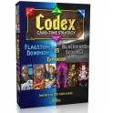 Codex: Flagstone Dominion VS Blackhand Scourge expansion - expansión juego de cartas