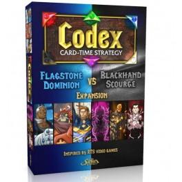 Codex: Flagstone Dominion VS Blackhand Scourge expansion - expansión juego de cartas