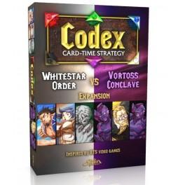 Codex: Whitestar Order VS Vortoss Conclave Expansion - expansión juego de cartas