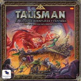 Talisman Cuarta Edicion Revisada - juego de mesa