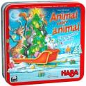 Animal sobre animal: Edicion Navidad - Edicion Limitada - juego de mesa para niños de haba