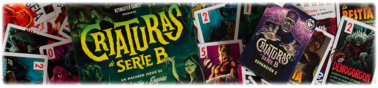 juegos de mesa criaturas serie b