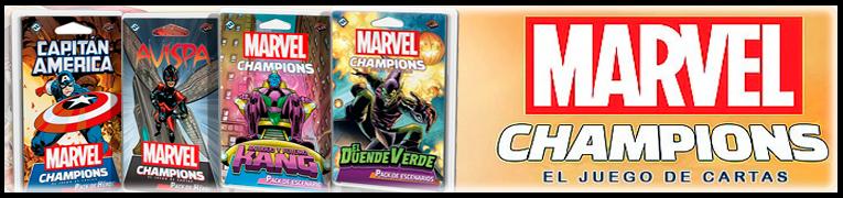 juegos de mesa marvel champions